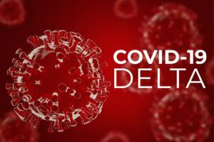 Coronavirus delta variant. Covid-19mutation