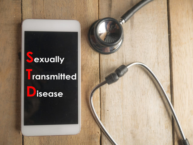 Medical and Health Care Concept, STD Sexually Transmitted Disease
