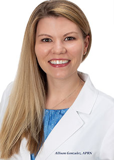 Allison Gonzalez - SC Internal Medicine Associates and Rehabilitation, LLC