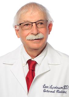 Meet Dr. Levinson - SC Internal Medicine Associates and Rehabilitation, LLC