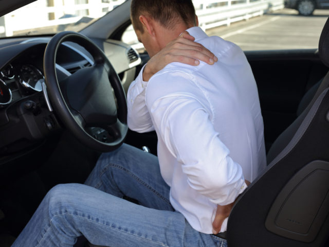 Driving and back pain
