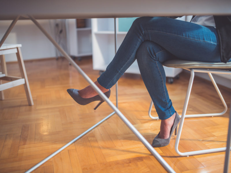 Is Crossing Your Legs Bad for Your Knees?