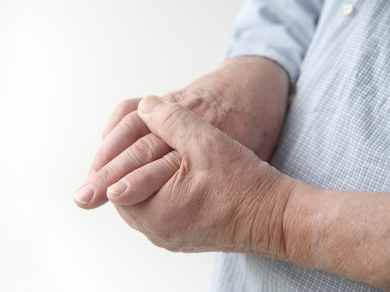 pain of hand arthritis